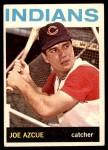 1964 Topps #199  Joe Azcue  Front Thumbnail
