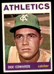 1964 Topps #174  Doc Edwards  Front Thumbnail
