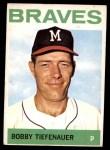1964 Topps #522  Bob Tiefenauer  Front Thumbnail