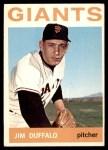 1964 Topps #573  Jim Duffalo  Front Thumbnail