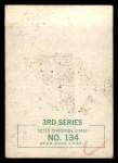 1964 Topps Beatles Black and White #114  John Lennon  Back Thumbnail