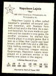 1961 Golden Press #31  Nap Lajoie  Back Thumbnail