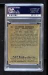 1939 Play Ball #28  Syl Johnson  Back Thumbnail