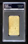 1911 T205  Wilbur Goode  Back Thumbnail