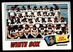 1977 Topps #418   -  Bob Lemon White Sox Team Checklist Front Thumbnail