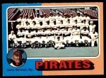 1975 O-Pee-Chee #304   -  Danny Murtaugh Pirates Team Checklist Front Thumbnail