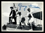 1964 Topps Beatles Black and White #87  George Harrison  Front Thumbnail