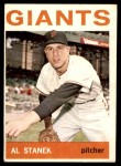 1964 Topps #99  Al Stanek  Front Thumbnail