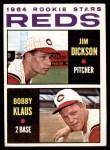 1964 Topps #524  Jim Dickson / Bobby Klaus  Front Thumbnail