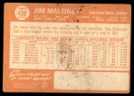 1964 Topps #420  Jim Maloney  Back Thumbnail