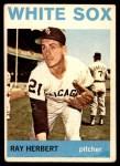 1964 Topps #215  Ray Herbert  Front Thumbnail