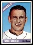 1966 Topps #152  Frank Malzone  Front Thumbnail