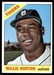 1966 Topps #20  Willie Horton  Front Thumbnail