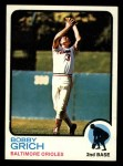 1973 Topps #418  Bobby Grich  Front Thumbnail