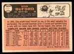 1966 Topps #465  Don Buford  Back Thumbnail