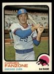 1973 Topps #139  Carmen Fanzone  Front Thumbnail