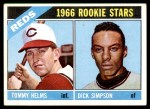 1966 Topps #311   -  Tommy Helms / Dick Simpson Reds Rookies Front Thumbnail