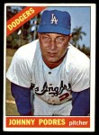 1966 Topps #468  Johnny Podres  Front Thumbnail