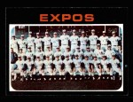 1971 Topps #674   Expos Team Front Thumbnail