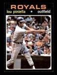 1971 Topps #35  Lou Piniella  Front Thumbnail