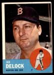 1963 Topps #136  Ike Delock  Front Thumbnail
