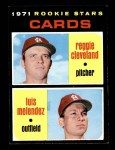 1971 Topps #216   -  Reggie Cleveland / Luis Melendez Cardinals Rookies Front Thumbnail