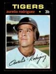 1971 Topps #464  Aurelio Rodriguez  Front Thumbnail