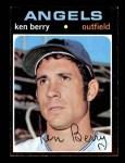 1971 Topps #466  Ken Berry  Front Thumbnail