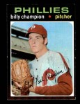 1971 Topps #323  Billy Champion  Front Thumbnail