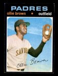 1971 Topps #505  Ollie Brown  Front Thumbnail