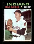 1971 Topps #294  Steve Dunning  Front Thumbnail