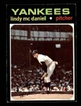 1971 Topps #303  Lindy McDaniel  Front Thumbnail