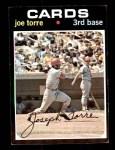 1971 Topps #370  Joe Torre  Front Thumbnail