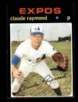 1971 Topps #536  Claude Raymond  Front Thumbnail