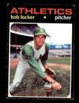 1971 Topps #356  Bob Locker  Front Thumbnail