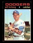 1971 Topps #314  Jeff Torborg  Front Thumbnail