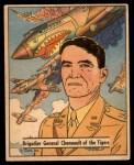 1941 Gum Inc. War Gum #76   Brigadier General Chennault Of The Tigers Front Thumbnail