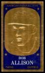1965 Topps Embossed #38  Bob Allison  Front Thumbnail