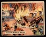 1941 Gum Inc. War Gum #65   Commando Raid On St. Nazaire Front Thumbnail