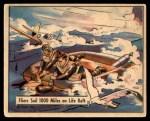 1941 Gum Inc. War Gum #61   Fliers Sail 1000 Miles On Life Raft Front Thumbnail
