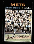 1971 Topps #428  Jim McAndrew  Front Thumbnail