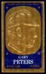 1965 Topps Embossed #18   Gary Peters   Front Thumbnail