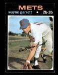 1971 Topps #228  Wayne Garrett  Front Thumbnail