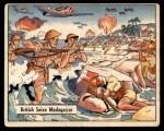 1941 Gum Inc. War Gum #69   British Seize Madagascar Front Thumbnail