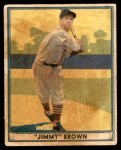 1941 Play Ball #12  Jimmy Brown  Front Thumbnail