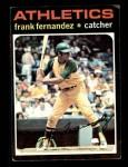 1971 Topps #468  Frank Fernandez  Front Thumbnail
