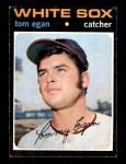 1971 Topps #537  Tom Egan  Front Thumbnail