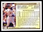 1999 Topps #312  Marty Cordova  Back Thumbnail