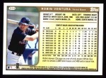 1999 Topps #314  Robin Ventura  Back Thumbnail