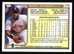 1999 Topps #322  Reggie Jefferson  Back Thumbnail